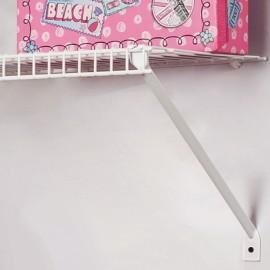 Soporte diagonal uña para entrepaños de 40cm
