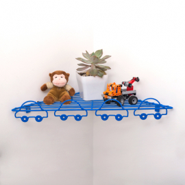 Repisa esquinera carritos