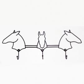 Perchero caballos