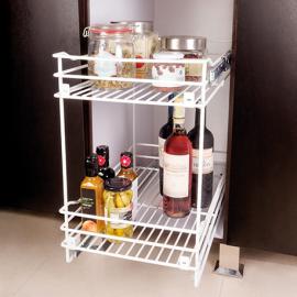 Despensa mueble bajo 2 niveles para modulo de 40cm