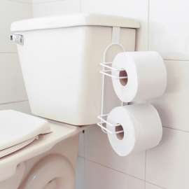 Soporte doble papel higiénico