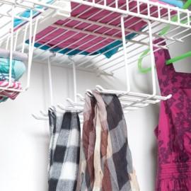 Organizador de corbatas y bufandas