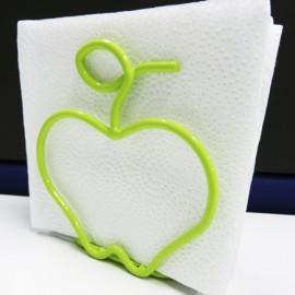 Servilletero manzana