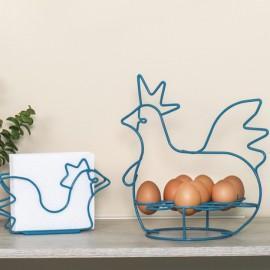 Organizador de huevos de gallina