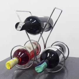 Soporte de vinos 3 puestos