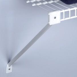 2 soportes diagonales para entrepaños de 30 cm