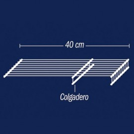 Entrepaño colgadero de 40X100 cm