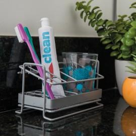 Porta cepillos y crema dental
