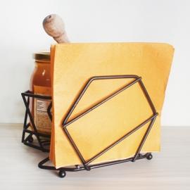Servilletero condimentero poligonal