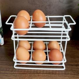 Organizador de huevos 2 niveles