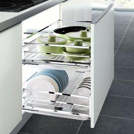 Canasta platero mueble bajo Diamante para módulo de 80 cm