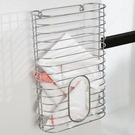 Canasta dispensador bolsas plásticas
