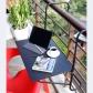 Mesa auxiliar para balcón