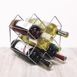 Soporte vino tribal x6