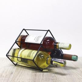 Soporte vino tribal x3