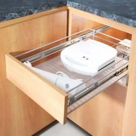 Canasta deslizante 3 lados para módulo de 40 cm
