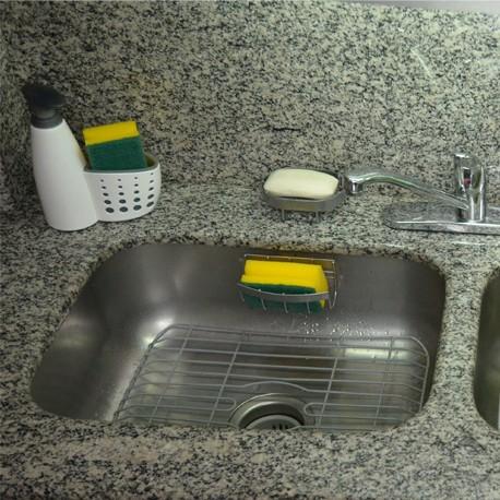 Protector lavaplatos peque o rejiplas organizador de cocina - Protector antisalpicaduras cocina ...
